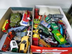 A COLLECTION OF VARIOUS DIE CAST VEHICLES.