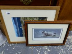 A QUANTITY OF DECORATIVE AND SIGNED LIMITED EDITION FURNISHING PRINTS AND PICTURES.