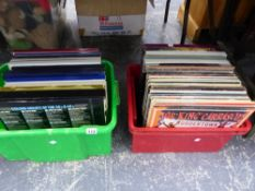 A QUANTITY OF VARIOUS RECORD ALBUMS INC. BOXED SETS.