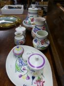 VARIOUS POOLE POTTERY VASES ETC.