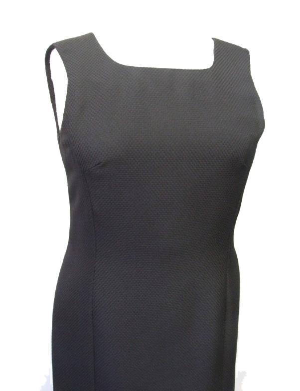 Lot 484 - J. Sander Little Black Dress size 38 CONDITION REPORT