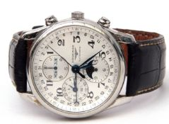 First quarter of 21st century Gent's Longines Chronographe Automatique (Calibre 678) from The Master