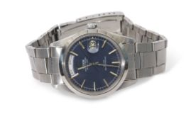 Gent's last quarter of 20th century Tudor Oyster Prince date-day stainless steel cased wrist watch