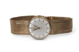 Gent's third quarter of the 20th century hallmarked 9ct gold cased automatic Omega wrist watch