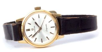 """Late 20th century Swiss centre seconds watch, Omega, """"Ladymatic"""" cal 671, 22570314, the 24-jewel"""