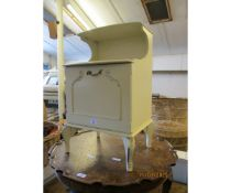 CREAM PAINTED BEDSIDE CABINET