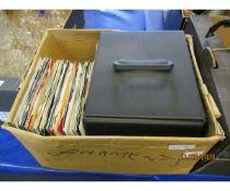 BOX OF VARIOUS 45RPM RECORDS