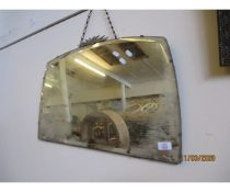 EARLY 20TH CENTURY WALL MIRROR