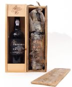 Fonseca vintage Port 1998 1 bottle and Offley LVV Port, 1 bottle (both in wooden boxes) (2 bottles)