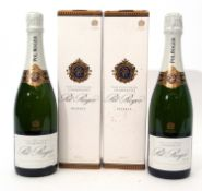 Pol Roger Champagne Extra Cuvee de Reserve, 2 bottles both in cartons