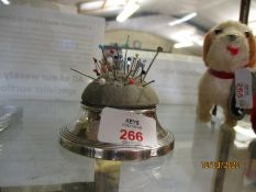 SILVER PIN CUSHION