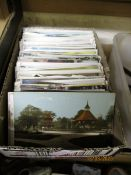 SMALL BOX OF POSTCARDS