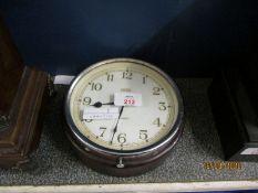 SMITHS WALL MOUNTED CIRCULAR CLOCK