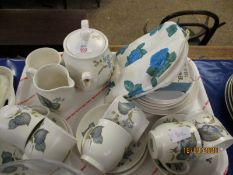 QUANTITY OF SYLVAC AUTUMN LEAF DECORATED TEA WARES ETC