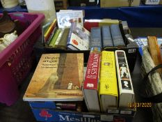 TWO BOXES OF MIXED BOOKS
