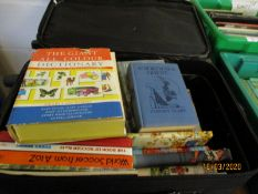 TWO SUITCASES OF MIXED BOOKS