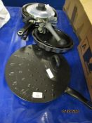 MIXED LOT OF COOKING PANS ETC