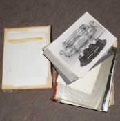 Vintage album containing various photographs of hallmarked silver and other artefacts