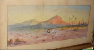 H A Linton (19th/20th Century), 'On The Mediterranean', watercolour, signed lower right and