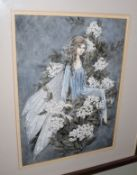 Jenny Press (20th century)Fairiesgroup of four watercolours, all signed and variously