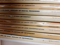 """Library of Science and Invention"", fantastic 1960s series of books, all in excellent cond with d/w,"