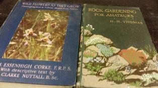 Gardening- decorative- botanic titles. 15 books