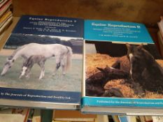 """Reproduction of Biology"", Equine Reproduction, 4 lge vols (each approx 750 pages)"