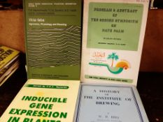 Selection of Agriculture Books, ex library of Plant Breeding Institue in Cambridge (8 books)