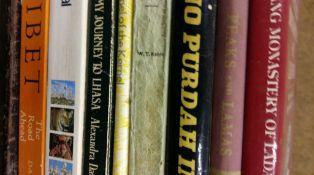 Travel- Tibet and Nepal etc. 8 books.