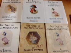 Childrens Books, small format incl Beatrix Potter (11)