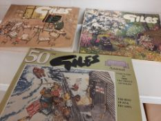 11 (no) various Giles Cartoon Books