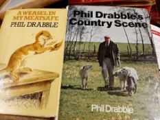 Four Phil Drabble Countryside Books