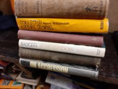 Twelve various Natural History interest Books