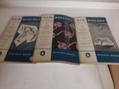 """New Biology"", by Penguin Books, 1946 - 1980 complete run plus extras, 63 paperbacks."