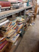 SHELVING: Metal Shelving- 3 x units- each 110 width x 180 height x 90 depth.