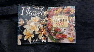 Gardening- large format flower books. 12 books
