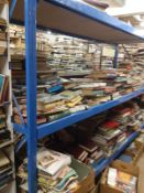SHELVING: Thick strong metal Shelving- 285 width x 200 height and 85 depth.