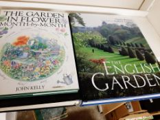 Qty large-format mainly modern titles -Gardening (8 books)