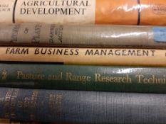 Collection of various Agriculture Books, rare as removed from library of Plant Breeding Institue