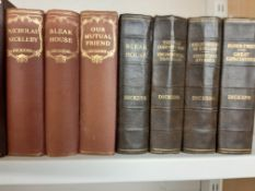 Qty sets Charles Dickens Books, 17 x books in total
