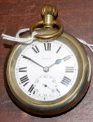 Railway-interest LNER 6292 Swiss made fob watch by Selex.