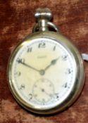 Railway-interest BR(S) Swiss made fob watch by Phenix.