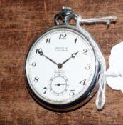 Railway-interest BR(M) 788 fob watch by Montine of Switzerland.