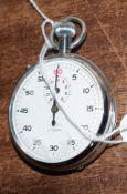 Railway-interest BR 83 Swiss made fob watch by Nero Lemania.