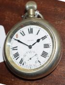 Railway-interest LNER 10359 Swiss made fob watch by Selex.
