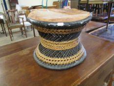 Vintage tribal Drum