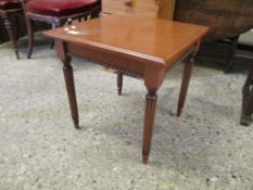 Small square cherrywood Coffee Table, width 48cm