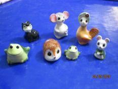 Collection various small Philip Laureston ceramic Animal Figures