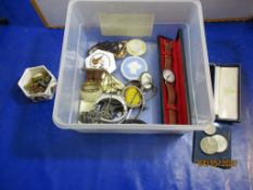 Qty various Costume Jewellery, Gents Wristwatches, etc