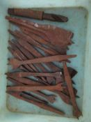 Vintage Tools: Selection of various Drill Bits